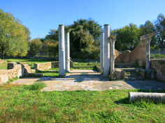 Synagogue in Ostia Antica
